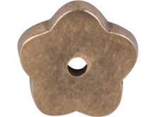 "Top Knobs M1426 LB Aspen Flower Plate 1"" - Light Bronze"