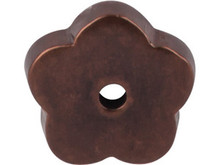 "Top Knobs M1428 MCB Aspen Flower Plate 1"" - Mahogany Bronze"