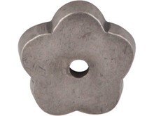 "Top Knobs M1425 SBL Aspen Flower Plate 1"" - Silicon Bronze Light"