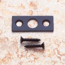 """JVJ 90320 Strike with Screws For 7"""" Flush Bolt - Oil Rubbed Bronze"""