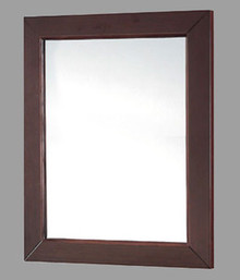 "Madeli RF-PD2436-003-WA Framed Vanity Mirror 24"" W X 36"" H - Walnut Finish"