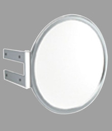 "Madeli RF-MD1007-003-PC Round Wall Mount Magnify Mirror  6 7/8"" with Polished Chrome Trim"
