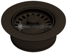 Polaris Flange-M Disposal Flange and Strainer - Mocha
