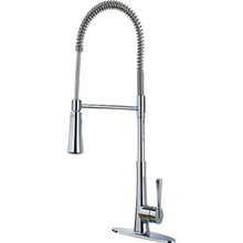 S Price Pfister GT529-MCC Professional Spring Spout Kitchen Faucet - Chrome