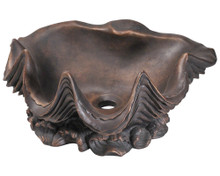 "Polaris P959 Bronze Vessel Lavatory Sink - Bronze Patina  19 1/2"" x 16 1/2 x 8 1/2 D"