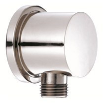 Danze D469058 R1 Wall Supply Elbow - Attaches to Handshower Hose - Polished Chrome