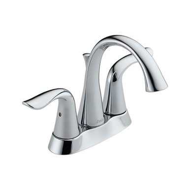 Delta 2538-MPU-DST Lahara Two Handle Centerset Lavatory Faucet - Chrome