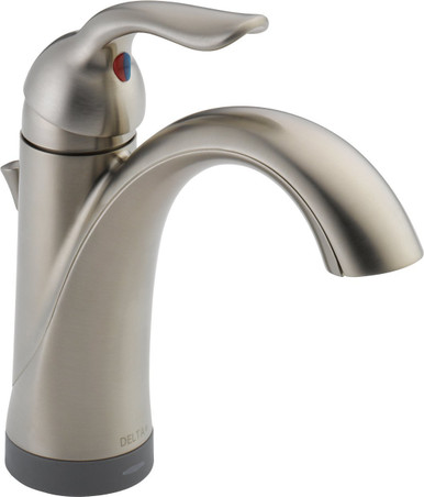 Delta 15938T-SS-DST Lahara Single Handle Lavatory Faucet With Touch2O Technology - Stainless