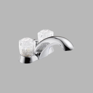 Delta 2522LF-MPU Classic Two Handle Centerset Lavatory Faucet - Chrome