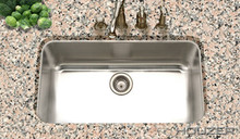 "Houzer STL-3600-1 Eston 29.25"" X 15.75"" X 9"" Large Single Bowl Top Mount Kitchen Sink - Stainless Steel"