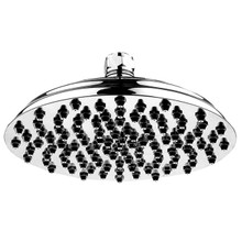 "Whitehaus WHSM01-12-C 12"" Showerhaus Sunflower Rainfall Showerhead With 108 Spray Nozzles - Polished Chrome"