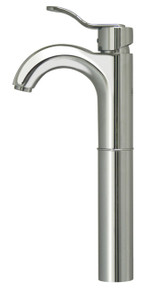 Whitehaus 3-04044C Wavehaus Single Handle Vessel Lavatory Faucet - Chrome