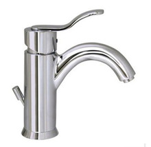 Whitehaus 3-04012C Galleryhaus Single Handle Lavatory Faucet With Pop-up Drain - Chrome