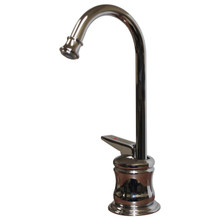 Whitehaus WHFH3-H65 Forever Hot Kitchen Instant Hot Water Dispenser Faucet - Self Closing Handle - Choice of Finish Colors
