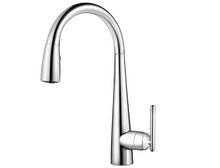 Price Pfister Lita GT529-SMC Pull-Down Kitchen Faucet - Chrome