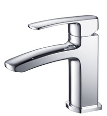 Fresca FFT9161CH Single Hole Mount Bathroom Vanity Faucet - Chrome