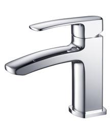 Fresca FFT9161CH Single Hole Mount Bathroom Vanity Faucet - Chrome
