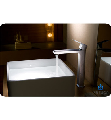 Fresca FFT9152CH Single Hole Vessel Mount Bathroom Vanity Faucet - Chrome