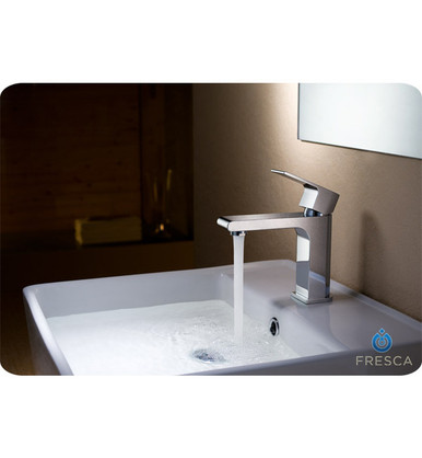 Fresca FFT9151CH Single Hole Mount Bathroom Vanity Faucet - Chrome