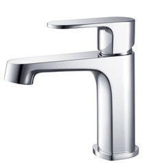 Fresca FFT9131CH Single Hole Mount Bathroom Vanity Faucet - Chrome