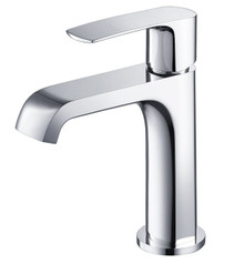 Fresca FFT3901CH Single Hole Mount Bathroom Vanity Faucet - Chrome