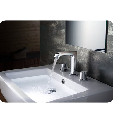 Fresca FFT3906CH Widespread Mount Bathroom Vanity Faucet - Chrome