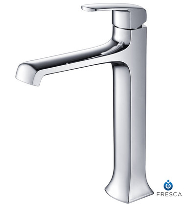 Fresca FFT3502CH Single Hole Vessel Mount Bathroom Vanity Faucet - Chrome