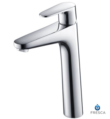 Fresca FFT3802CH Single Hole Vessel Mount Bathroom Vanity Faucet - Chrome