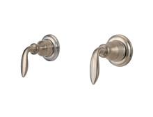 Price Pfister S10-400K Set of Shower Faucet Handles - Brushed Nickel