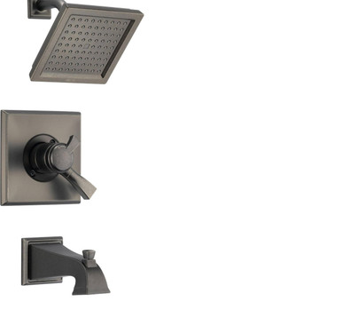 Delta Dryden T17T451PT Thermostatic Tub and Shower Faucet - Aged Pewter