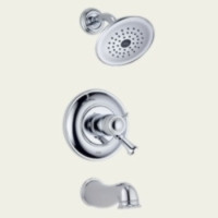 Delta T17T440 Single Handle Tub & Shower Faucet -  Chrome