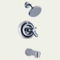 Delta T17T430 Single Handle Tub & Shower Faucet -  Chrome