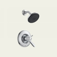 Delta T17T238 Single Handle Thermostatic Shower Faucet -  Chrome