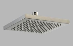 Delta Arzo RP53496-SS Square Touch Clean Raincan Showerhead & Arm & Flange  - Stainless