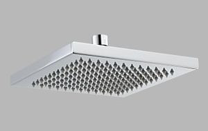 Delta Arzo RP53496 Square Touch Clean Raincan Showerhead & Arm & Flange  - Chrome