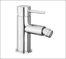 Aquabrass 61024PC Single Handle Lavatory Faucet With Swivel Spray - Straight Lever Handles - Chrome