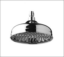 Aquabrass 2508PC 8'' Round Rain Head Showerhead - Chrome