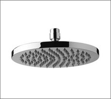 Aquabrass 2410BN 10'' Round Rain Head Showerhead - Brushed Nickel