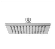 "Aquabrass 808PC 8"" Thin & Square Showerhead - Chrome"