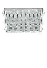 Aquabrass 815PC Ceiling Mount 16'' x 16'' Showerhead Shower Tile - Chrome