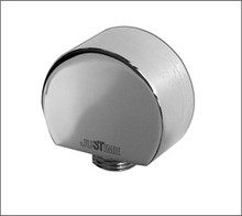 Aquabrass 1404BN Deluxe Wall Supply Elbow - Brushed Nickel