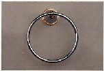 Aquabrass 507PC Towel Ring - Chrome