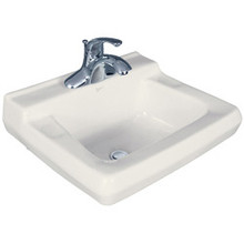 Mansfield Willow Run 1917CLO Wall Hung Lav Sink - White
