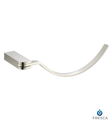 Fresca Solido FAC1362BN Towel Ring - Brushed Nickel