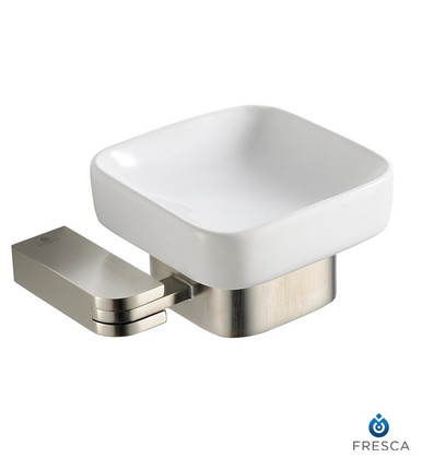 Fresca Solido FAC1308BN Soap Dish - Brushed Nickel