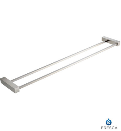 "Fresca Ottimo FAC0440BN 26"" Double Towel Bar - Brushed Nickel"
