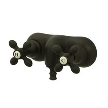 """Kingston Brass 3-3/8"""" Wall Mount Clawfoot Tub Filler Faucet - Oil Rubbed Bronze CC47T5"""