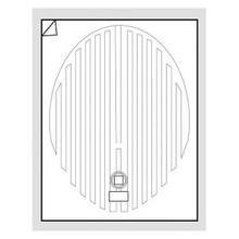 """WarmlyYours FFM-2432OV Oval 24"""" x 32"""" Mirror Defogger"""
