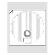 """WarmlyYours FFM-15R Circular 15"""" Mirror Defogger"""