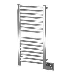 Amba Sirio S-2142-P 21'' x 42'' Towel Warmer & Space Heater - Polished Stainless